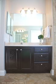 how to clean oak cabinets before staining refinish bathroom vanity diy project how to stain oak cabinets
