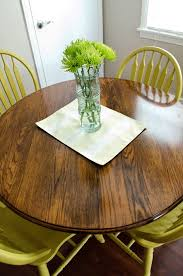 Best Refinishing Oak Table  Chairs Images On Pinterest - Sanding kitchen table