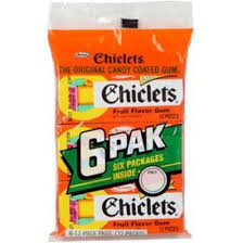 chicklets gum 6 pack 2 99 canada u0027s best deals on electronics