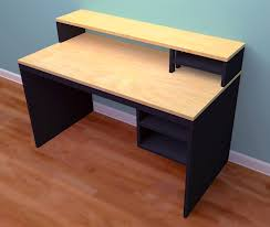 Small Maple Computer Desk Computer Desk From 1 Sheet Of Plywood