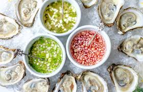 mignonette cuisine mignonette sauces for oysters oyster safety blue moon fish