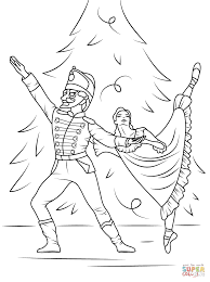 nutcracker ballet coloring free printable coloring pages