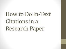 thesis citation Plataforma Arts de Carrer The Research Paper and Citation Methodology
