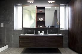 Bathroom Cabinet Lights Stunning White Lighting System For Black And Bathroom Design