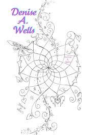 dreamcatcher tattoo design by denise a wells