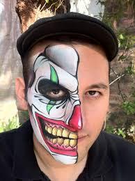 tutorial gambar joker face paint joker nice face painting to try jpg