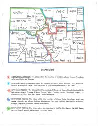 Montrose Colorado Map by Cacp Region Map