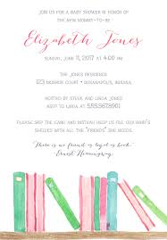 bring a book instead of a card baby shower 22 baby shower invitation wording ideas