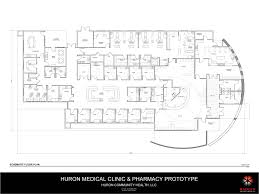 Pharmacy Floor Plans by City Of Huron Ca