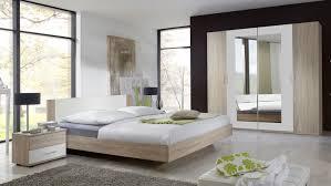 Schlafzimmer Komplett Modern Franziska Eiche Sägerau Doppelbett Kleiderschrank
