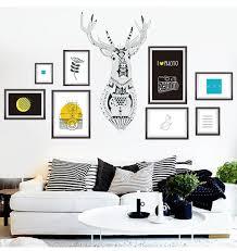 deer head home decor aliexpress com buy free shipping abstract nordic style elk deer