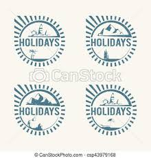 Travel logos travel agency vector logo design template