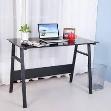 Black Home Office Desks Office Desk White Desk White Wood Desk Writing Desk Small Black