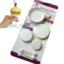 aliexpress com buy 4pcs set cake cupcake stands diy icing cream