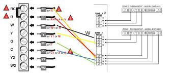 honeywell thermostat 4 wire diagram wiring diagram and schematic