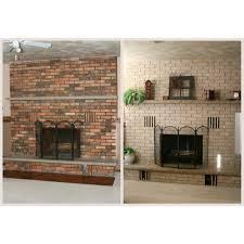beautiful updating a brick fireplace from remodel brick fireplace