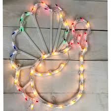 17 lighted thanksgiving turkey window decoration