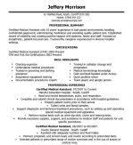 Certified Medical Assistant Resume Samples by Certified Medical Assistant Cma Resume Summary Sample Include