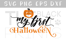 my first halloween svg dxf eps png baby design bundles