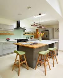 laminate countertops long kitchen island with seating lighting