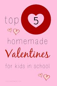 kid valentines make these 5 classroom valentines for kids in school