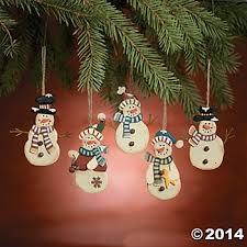 snowman ornament sets wikii