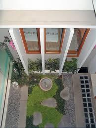 futuristic courtyard house design theme home interior design ideas