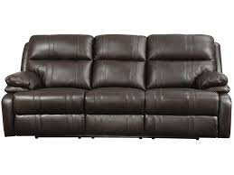 Presley Reclining Sofa by Happy Leather Company 1286 Power Reclining Sofa With Soft Pillow