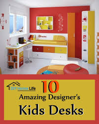 Red Kids Desk by 10 Amazing Designer U0027s Kids Desks Diy Home Life Creative