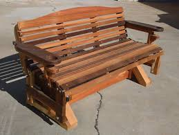 Porch Swing Fire Pit by Hand Made Cedar Porch Swings Adirondack Chairs And Rockers And