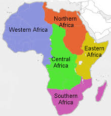 africa map color ouelessebougou maps uen