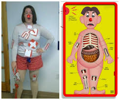 diy operation game costume love that game really awesome