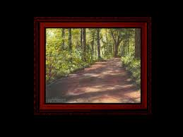 Mystical Forest Mural Nature Mural Learn How To Paint A Country Road In Acrylic Youtube