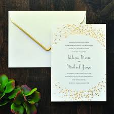 brides wedding invitation kits print your own wedding invitations kits 25 best glittery gold