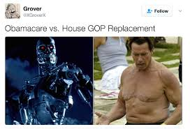 Obama Care Meme - ahnold and temrinator obamacare vs trumpcare know your meme