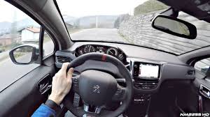peugeot 208 gti 2016 2016 peugeot 208 gti 208hp pov drive on winding roads youtube