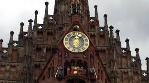 German Clocks Town Square Clocks Bamburg Germany Youtube