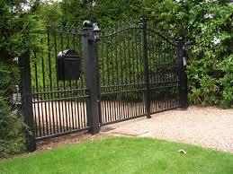 automatic hinged gates
