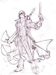 devil may cry 4 coloring pages coloring pages pinterest