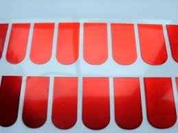 buy foonee foil nail wraps polish strips stickers for fingers and