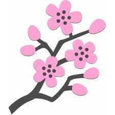 silhouette design store view design 74820 cherry blossom bough