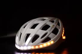 cycling jacket with lights this bike helmet has your lights built in