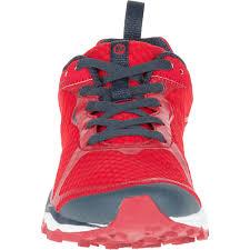light trail running shoes merrell men s all out crush light trail running shoes red