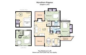 wyndham pagosa 2 bedroom loft floor plan lovely wyndham pagosa