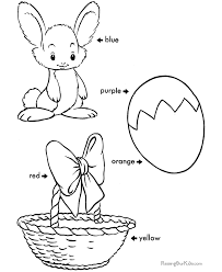 easter coloring sheets sight word coloring easter kids
