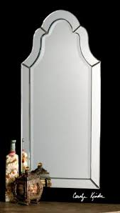 Large Arched Wall Mirror Amazon Com Gorgeous Large Frameless Arch Venetian Style Beveled