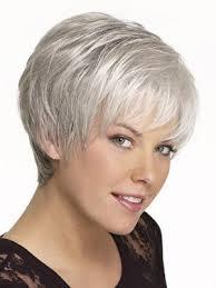ladies hair pieces for gray hair short boy cut synthetic capless grey wig hair piece grey p4 wwo093
