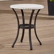 Crate And Barrel Outdoor Furniture Covers by Mosaic Side Table Crate And Barrel