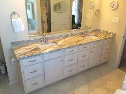 Bathroom Lovable Dura Wall Mounted Finally Finished Our Half Bath Fantasy Brown Granite Custom