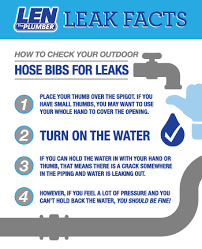 Leaking Hose Faucet How To Check Your Outdoor Hose Bib For Leaks Len The Plumber